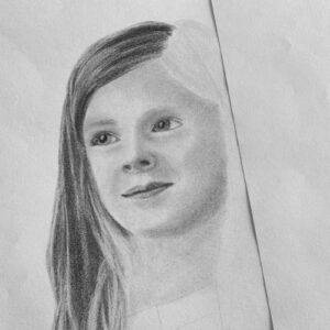 Day 7 - Graphite pencil drawing