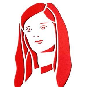 Day 10 - Paper cut portrait