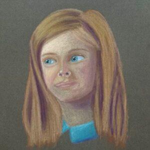 Day 33 - Pastel portrait