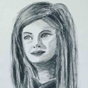 Day 34 - Quick charcoal drawing without reference