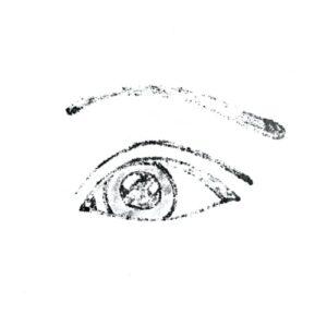 Day 87 - Promarker imprint of an eye